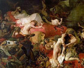 Eugène Delacroix, La Mort de Sardanapalus