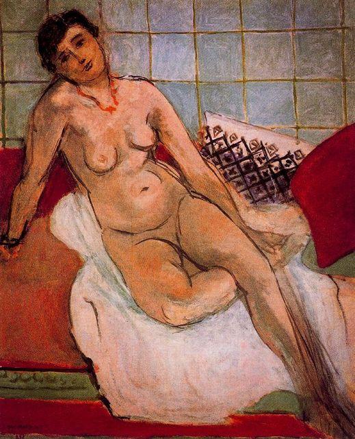 Le Grand Nu Gris, Henri Matisse