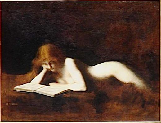 Jean-Jacques Henner, La liseuse (de Motion?!?)