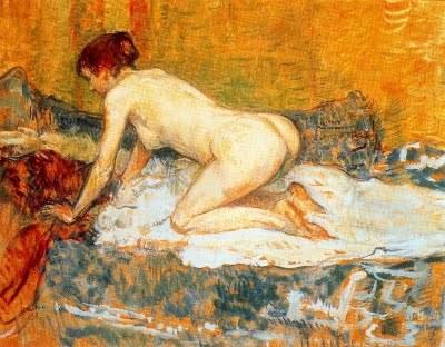 Toulouse-Lautrec « Femme aux cheveux roux accroupie » 1897