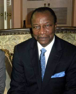 Alpha Condé, Petit-Mandela et Engagé