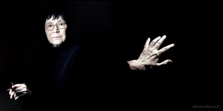 Agota Kristof, 2004, par Olivier Roller