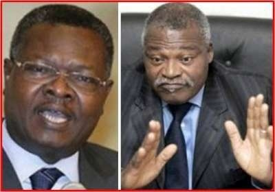 Agbéyomé Kodjo et Abass Bonfoh