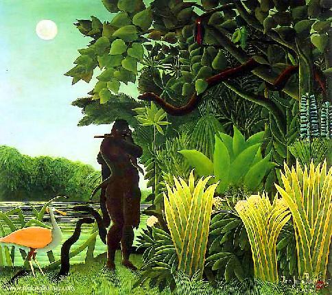 La Charmeuse de serpent de Rousseau