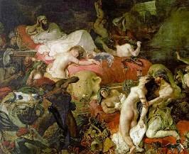 La mort de Sardanapale, Delacroix