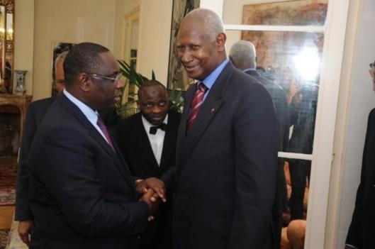 Macky Sall et Abdou Diouf