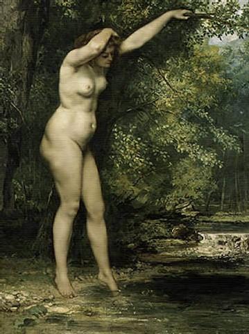 Oléo, Gustave Courbet