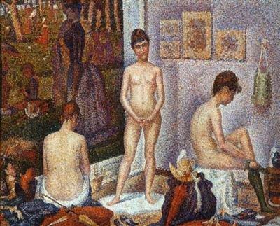Georges Seurat, Modèles... à suivre