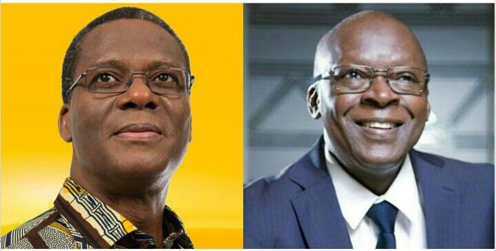 Les poids lourds de l'équipe gouvernementale: Pascal Koupaki et Abdoulaye Bio Tchané