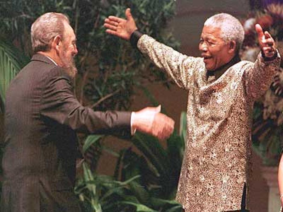 Des voix... Castro et Mandela