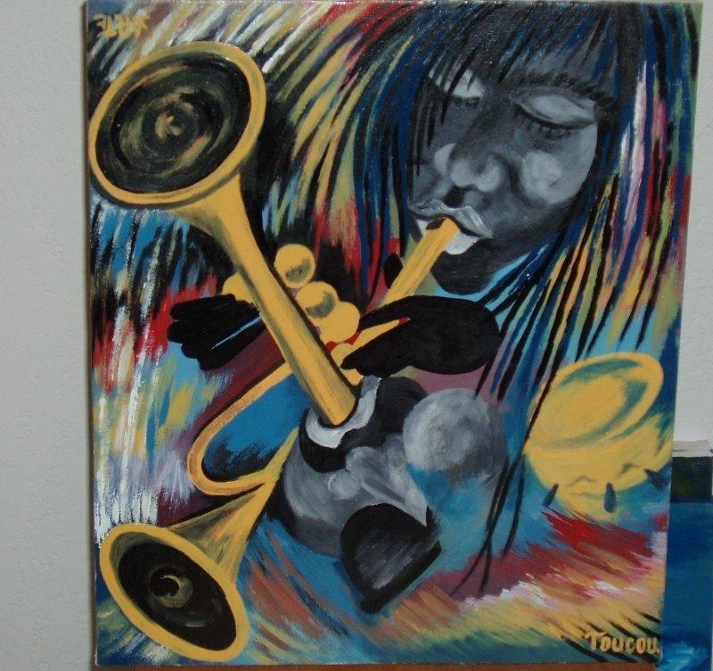 Femme aux Trompettes