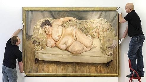 Sue Tilley, la muse de Lucian Freud.