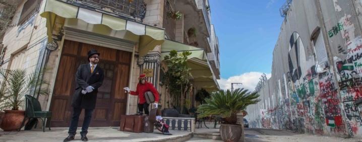 L'hôtel de Banksy à Bethléem… Même Jésus aurait détesté