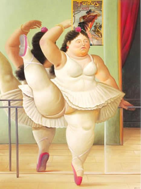 Fernando Botero, La femme du torero... elle sait être gracieuse aussi