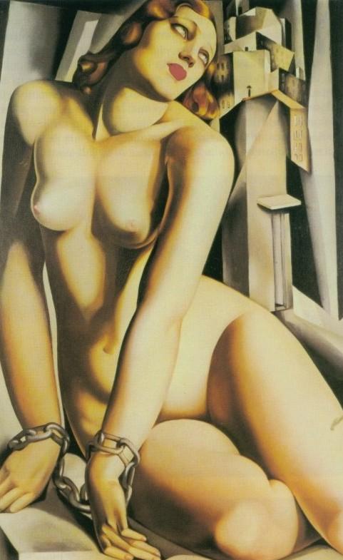 Tamara De Lempicka, Andromède enchaînée