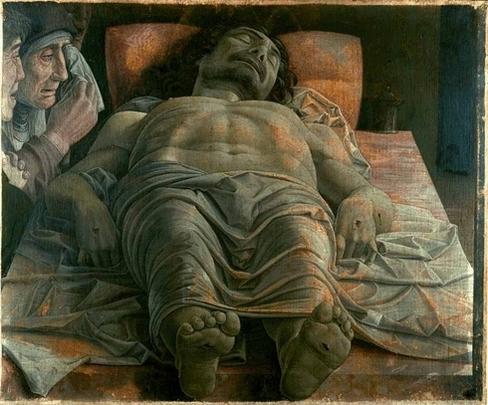 André Mantegna, Le Christ Mort, 1480-1490