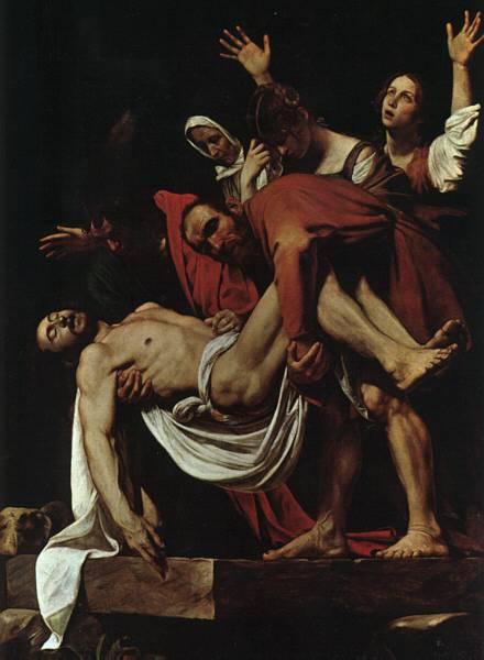 La Mise au Tombeau, MichelAngelo Merisi
