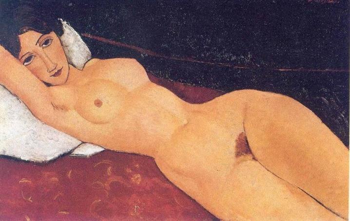 Amadeo Modigliani, Sur le Divan