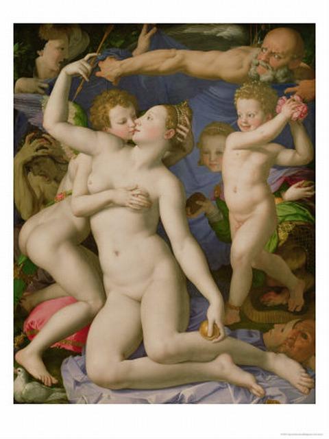 Agnolo Bronzino, Vénus et Cupidon