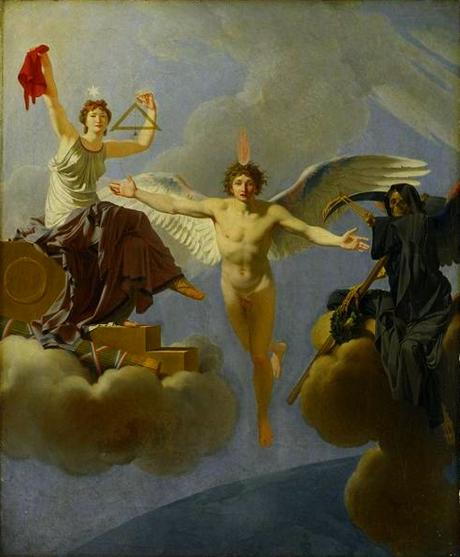 J B Regnault,  La Liberté ou la mort: une question de séparation