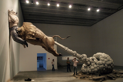 Chen Wenling, La Révolte (What You See Might Not Be Real)