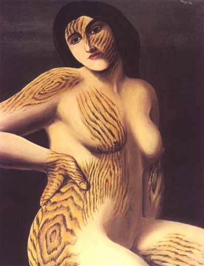 René Magritte, La découverte... Au commencement était le verbe