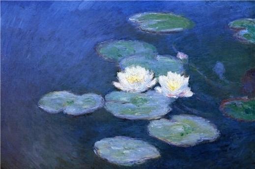 Claude Monet, Les Nymphéas-Effet du soir