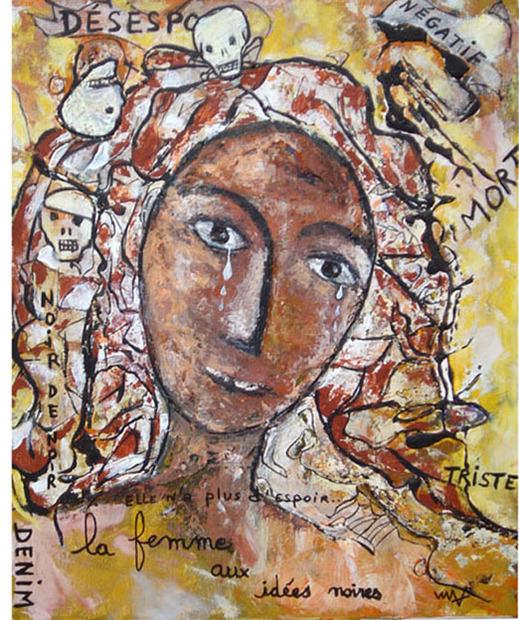Denim, La femme aux idées noires