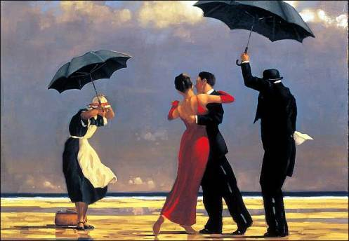 Jack Vettriano, The-Singing-Butler