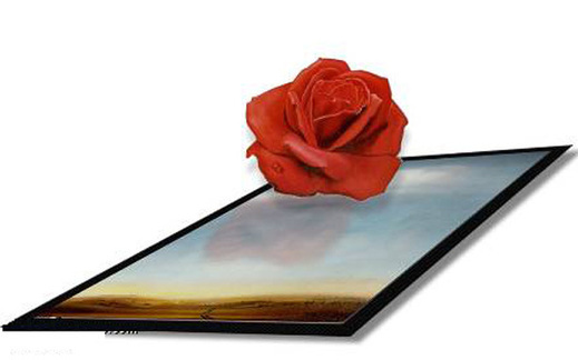 Salvador Dali, Rose méditative