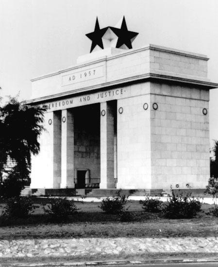 Black Star Square à Accra... Go Black Stars Go! Baghana Baghana...