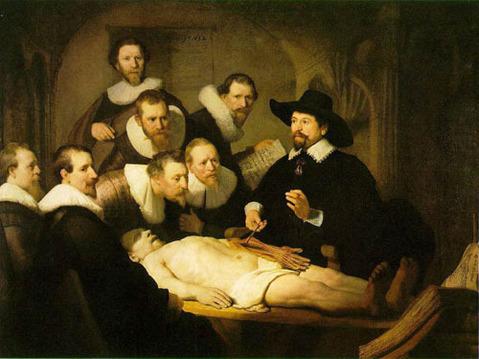 La leçon d'anatomie du Docteur Tulp