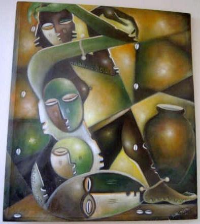 Amada, Femme Africaine