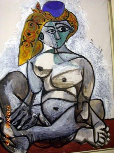 Pablo Picasso, Femme nue au bonnet turc