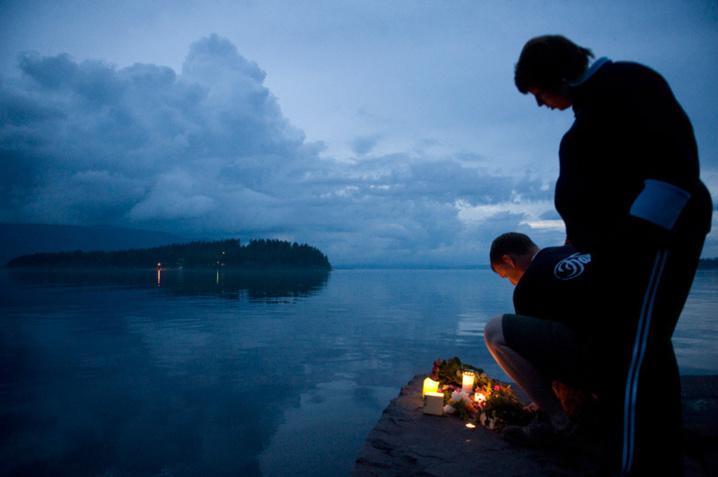 Aux portes d'Oslo, l'île d'Utoeya: un paradis d'enfer