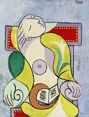 La Lecture, Picasso