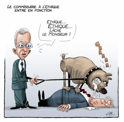 La blague à Jean Charest