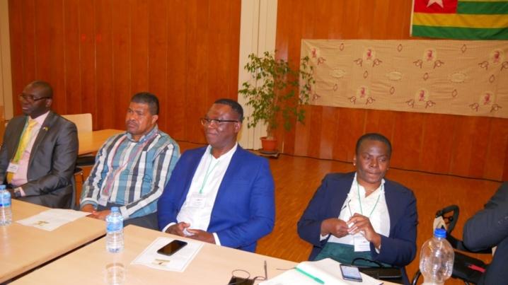Partcipants au Symposium Sylvanus Olympio