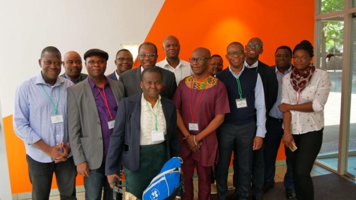 Photo de groupe... Symposium Sylvanus Olympio