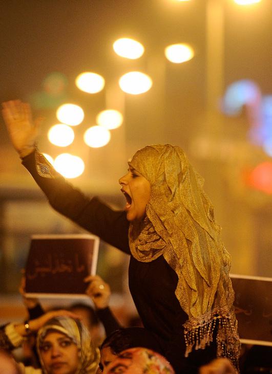 Les Égyptiennes se fâchent