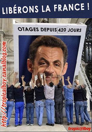 Anti-Sarkozy comme de l'anti-Bush : une Extrême Onction