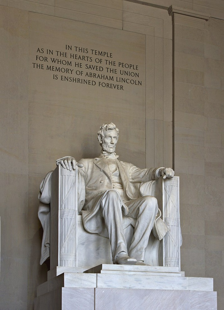 Abraham Lincoln... Memorial de Washington DC