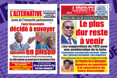 La France Vizir et le Togo Faure