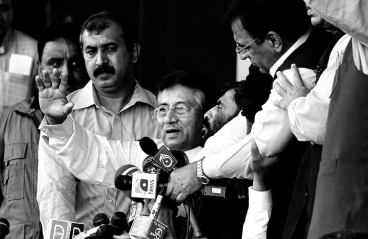 Pervez Musharraf , le retour