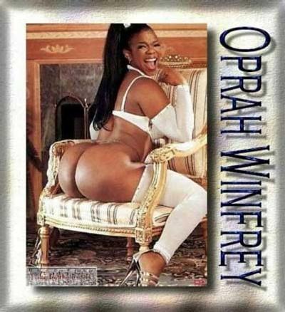 Une des célèbres photos d'Oprah Winfrey