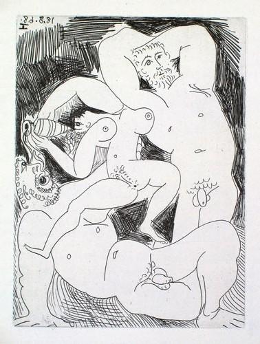 'Pourvu Qu'on ait l'Ivresse' selon Pablo Picasso