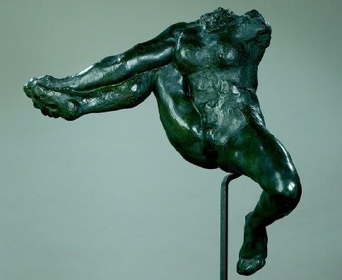 Iris, messagère des dieux; Rodin