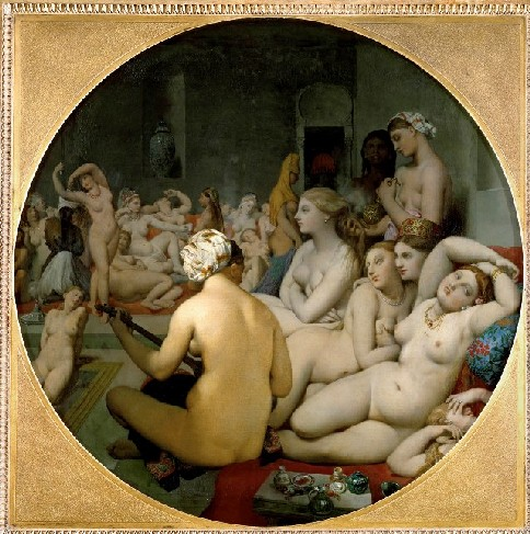 Le Bain Turc de Dominique Ingres