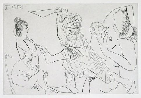 Menace, Picasso