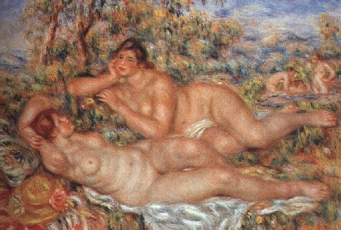 Les baigneuses de Renoir